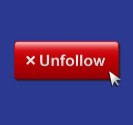 @littlemiss2018 Hey Catherine, I think youre looking for this button if you dont like what youre reading. Lynsey wont lose any sleep if she has one less follower like you. She has the support of everyone else #cervicalcancer