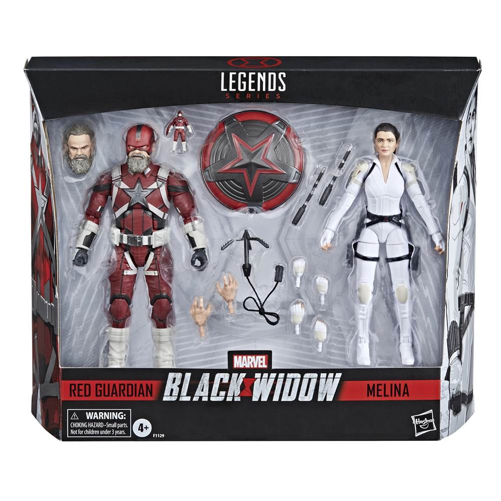 Hasbro is now taking pre-orders for a #BlackWidow Marvel Legends 2-pack featuring Red Guardian & Melina Vostokoff.