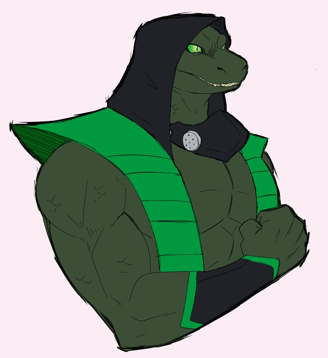 #interpvscanon I may be a little late for this one.  Reptile.  (retweet to scare a MK fan)