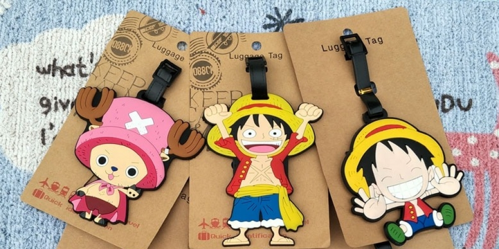#otakugirl #japanese #swordartonline One Piece Luffy Luggage Tag