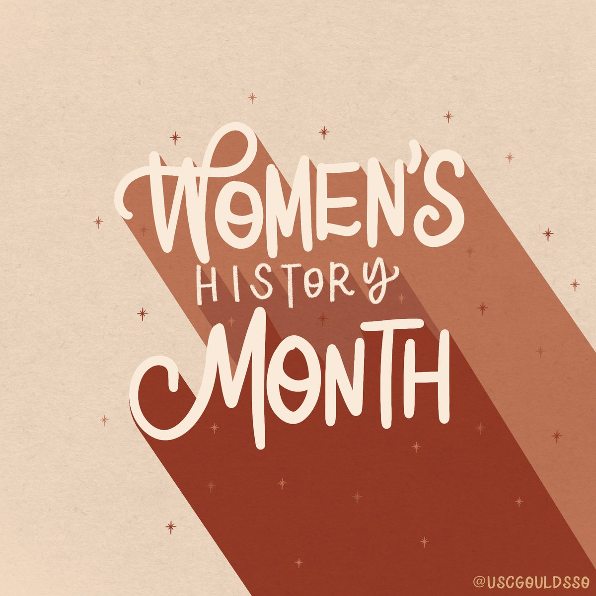 Happy #WomensHistoryMonth! This month and beyond, let us celebrate and honor the amazing women who have and continue to pave the way for future generations.  Visit USC's WHM Calendar to check out this month's events:   #USCGouldSSO #WHM