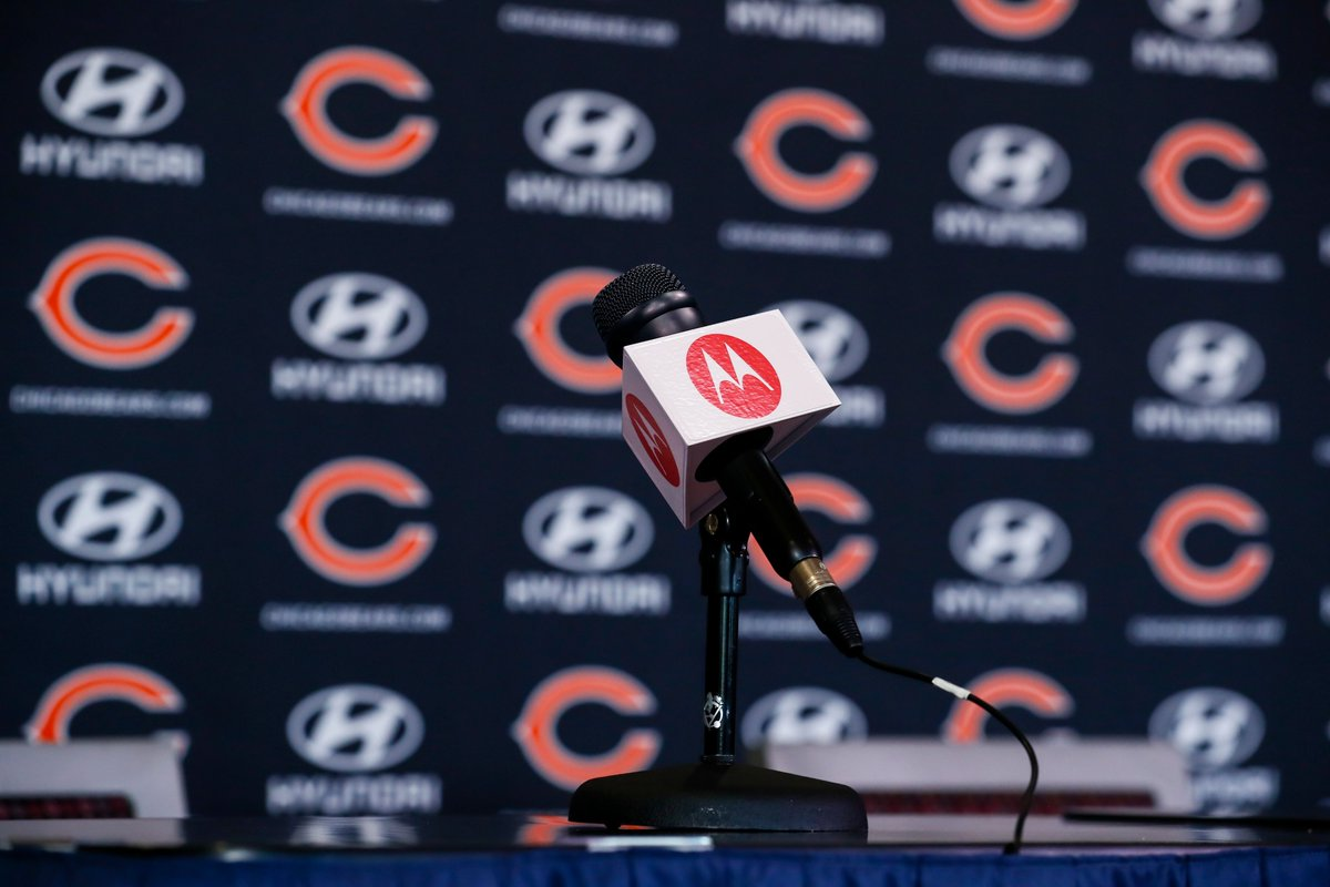 This afternoon, catch offseason media availability for Ryan Pace (3pm CT) and Matt Nagy (4pm CT) live right here on Twitter or in our app. https://t.co/K5OZOPDwEw
