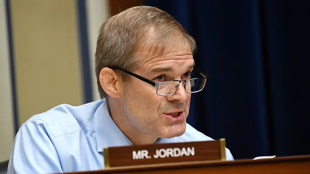 "JUST IN: Jim Jordan calls for House hearing on ""cancel culture"""