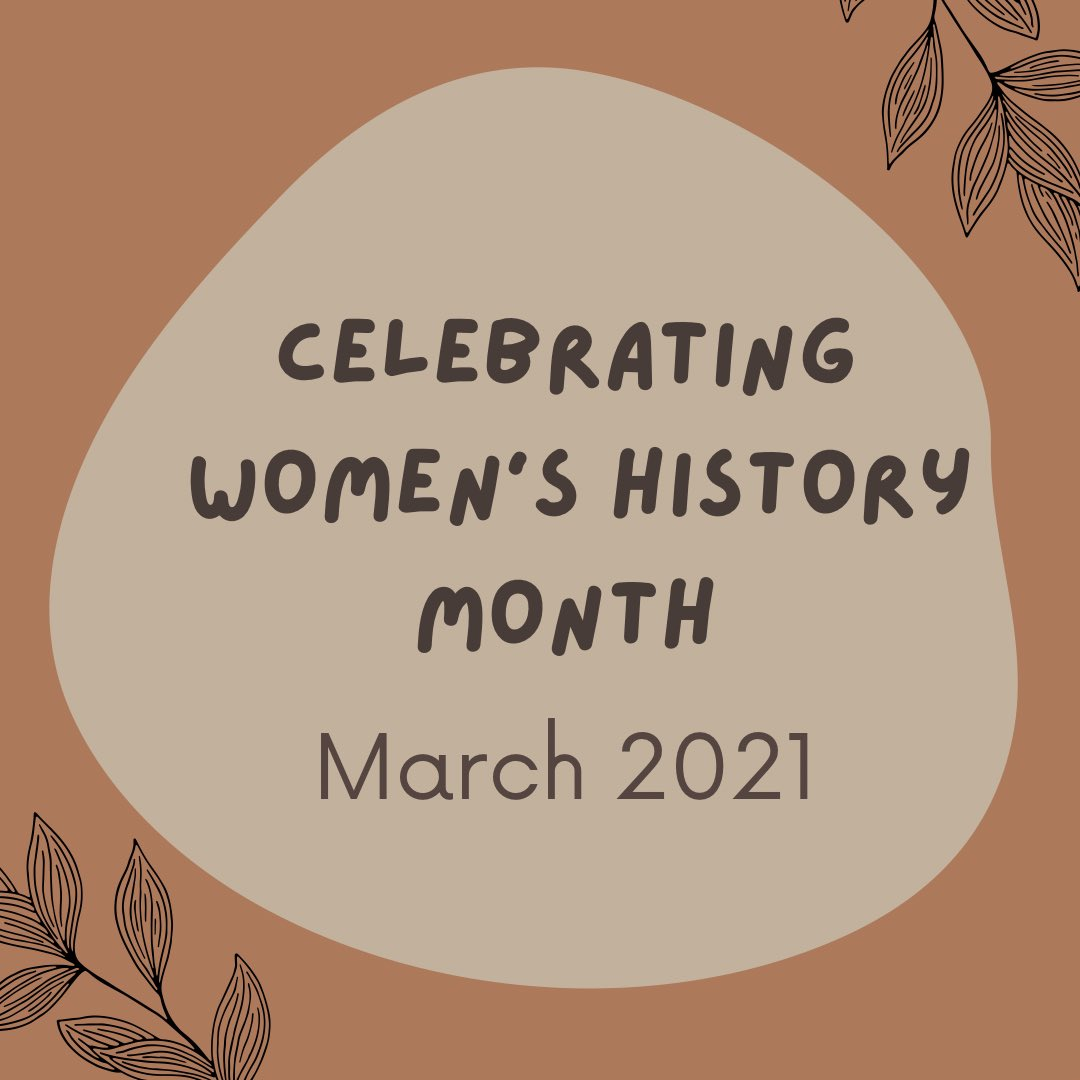 Happy #WomensHistoryMonth! Can't wait to celebrate the many achievements of women throughout this month!