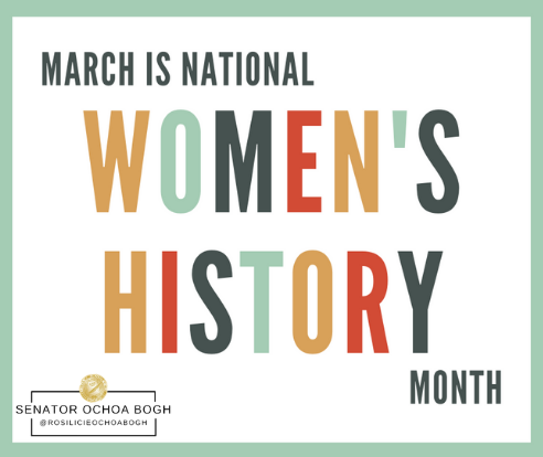 In March we recognize #WomensHistoryMonth commemorating and encouraging the study, observance and celebration of the vital role of women throughout American history and in the development of our national identity.   #NationalWomensHistoryMonth #CaliforniaWomen #WomenInHistory
