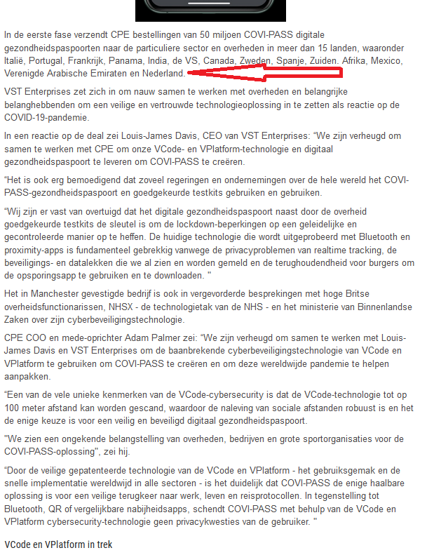 test Twitter Media - @margabult @Bullshit_vs_Lie @ajaxfriend @Silvana27132847 @VerkaikAstrid Ook Nederland heeft vorig jaar de Covipass al aangekocht hoor. Een #groenvinkje op je smartphone geeft je toegang tot je sociale leven. Nu de meeste ondernemers bijna failliet zijn, zullen ze meewerken tegenover steunmaatregelen. En de rest krijgt basisinkomen. Cash er uit. https://t.co/0zraHM9u2M
