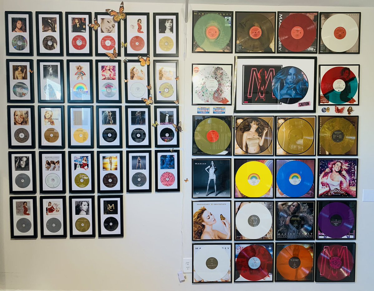 Hi @MariahCarey #vinyl #MariahCarey #vinylrecords #vinylcollection #vinyloftheday #vinyladdict #mc30 #lambilymoments #lambily @MariahTrends @UMCMuseum