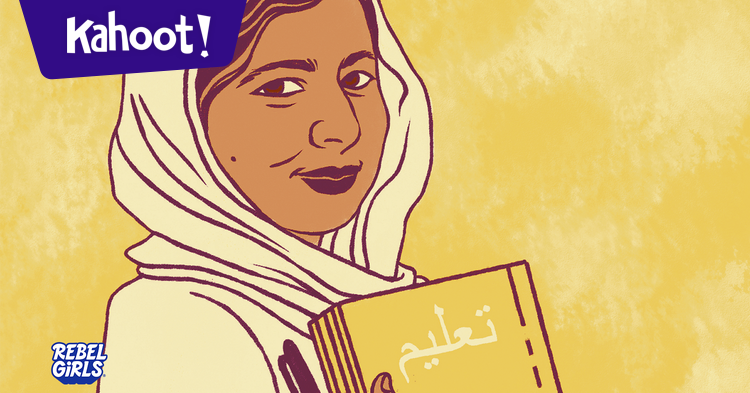 March is #WomensHistoryMonth! Celebrate by playing some trivia with @rebelgirlsbook. See how much you know about powerful women leaders who've paved the way for others.  🤗