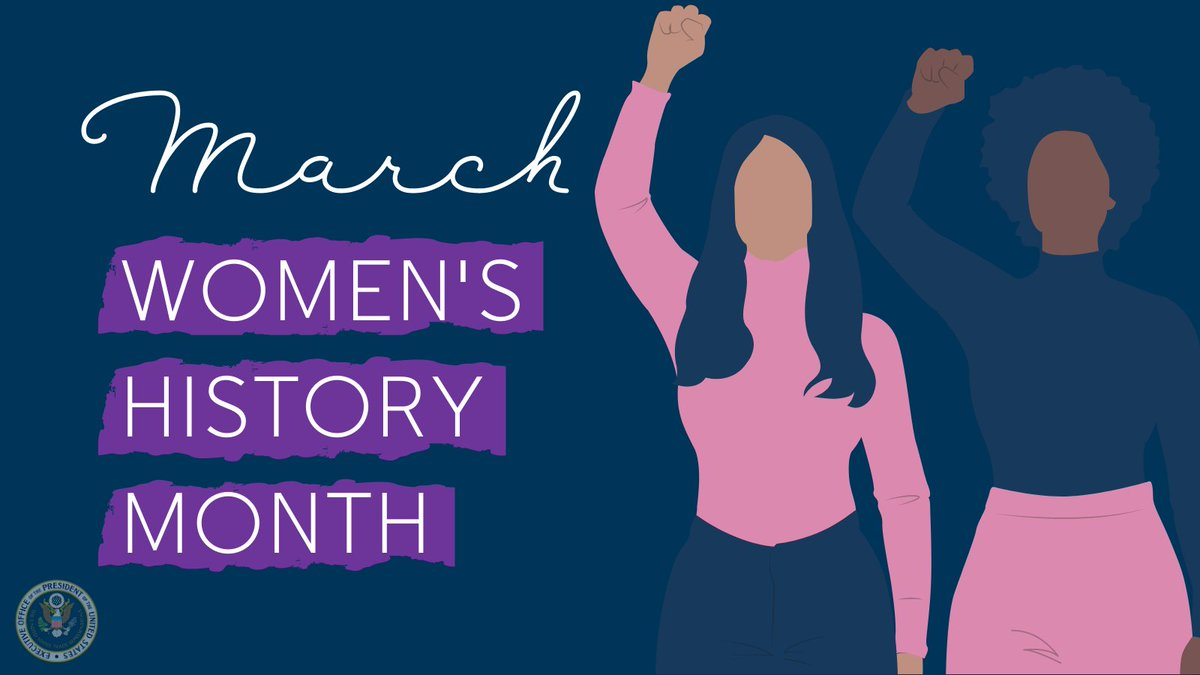 March is #WomensHistoryMonth, a time to reflect, learn, and celebrate the remarkable achievements women across the globe have made in history. At USTR, we strive to ensure women have a voice and a seat at the table – read the statement we issued today: