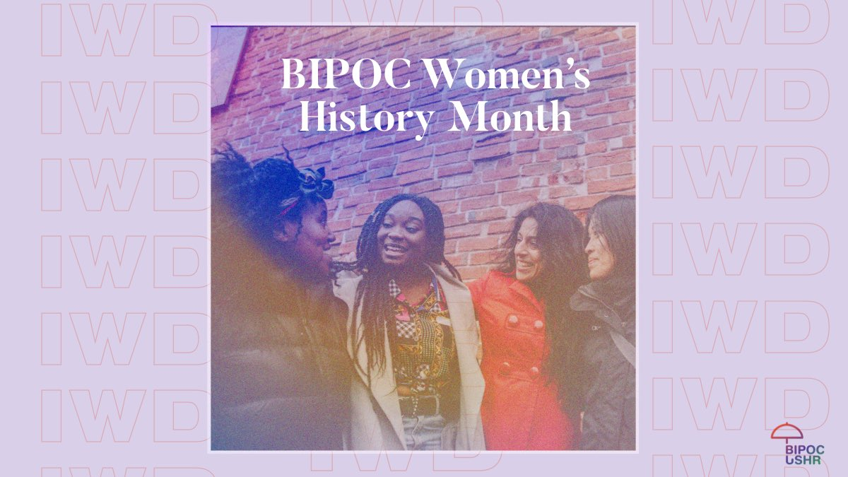No better way to welcome March than celebrating and honoring BIPOC women. We have seen through history that BIPOC woman have been revolutionaries. If you wonder what is revolutionary, it is women who have fought to make change.  #woman #BIPOC #bipocwomen #WomensHistoryMonth