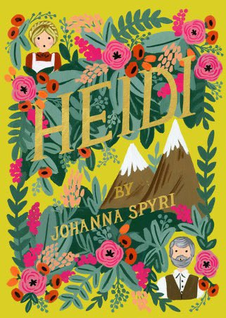 The #FirstNovel I read was Heidi. My mom bought me this book and I was attracted by the description of Heidi's life on the mountain.