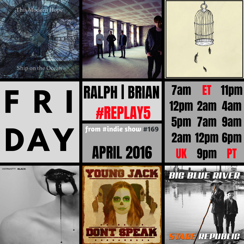 #FRIDAY 3│5 on #🆁🅺🅲 Ralph/Brian @fruitbatwalton #169 #REPLAY5 ▂▂▂▂▂▂▂▂▂▂▂▂▂▂ 🕣7AM⚪12PM⚪5PM⚪2AM UK ▂▂▂▂▂▂▂▂▂▂▂▂▂▂ @thismodernhope │ @WaitingOnJack │ @fromthecaveband │ @WETPAINTTT │ Young Jack │ @stagerepub ▂▂▂▂▂▂▂▂▂▂▂▂▂▂