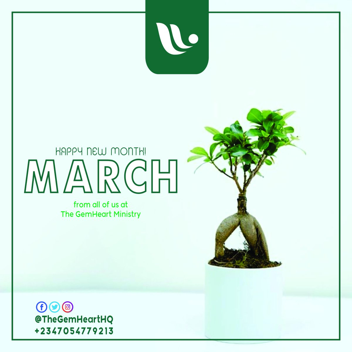 *Hey The Gem Heart!*  Welcome to March, 2021! Our month of Marching into:  M - Mercy   A - Abundance  R - Renewal   C - Comfort   H - Happiness  #HappyNewYear #March2021 #ScriptureChallenge #TheSinglesHQ #YoungWomenHQ #TheGreenProject #TheGreenTeam #TheGreenWall