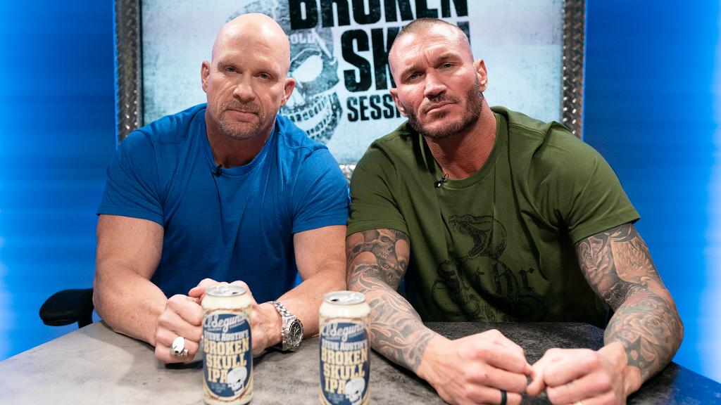 #TheViper @RandyOrton joins @steveaustinBSR on an all-new #BrokenSkullSessions, streaming later this month on @peacockTV and @WWENetwork!  Drop a #HellYeah 👇