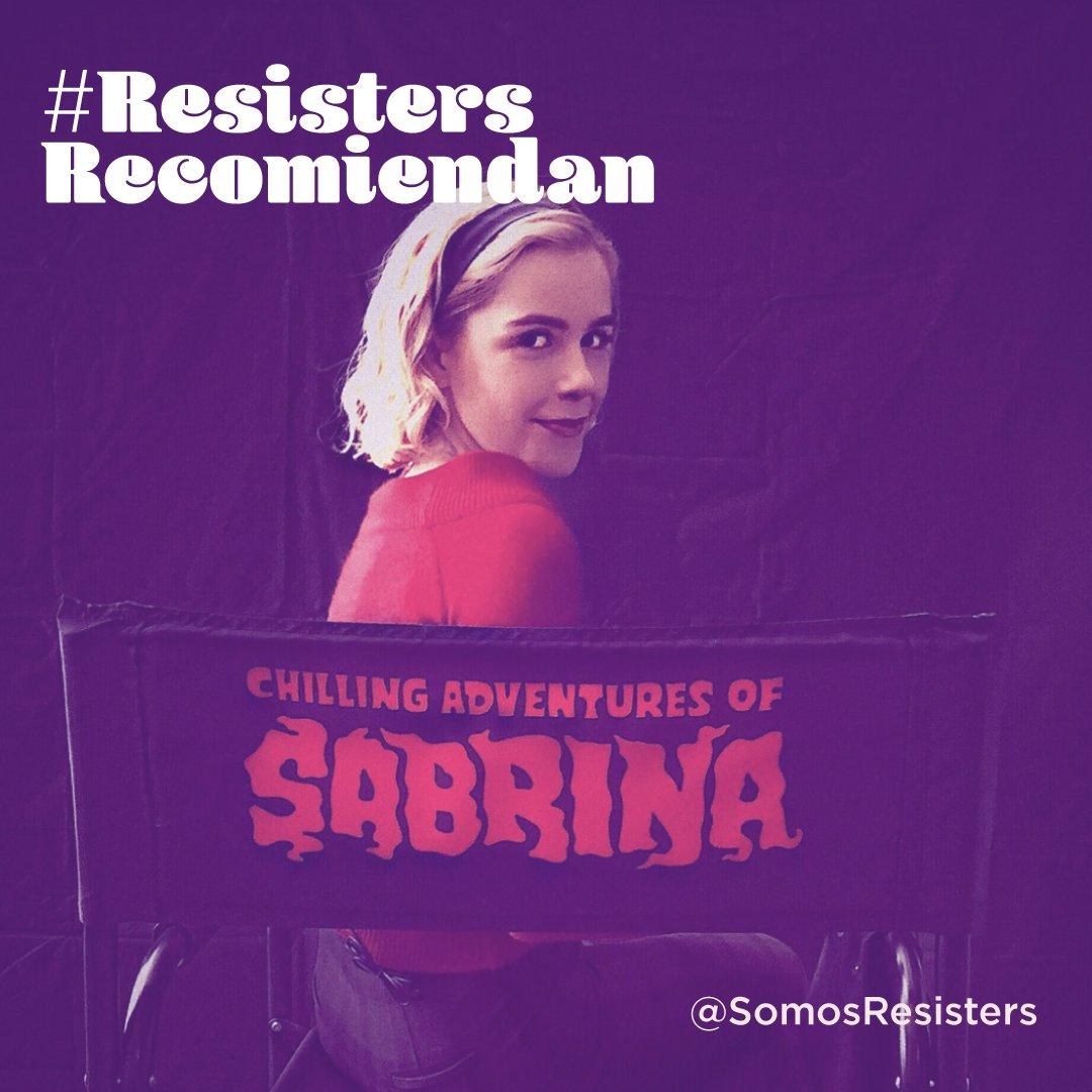 """En una versión más apegada al comic """"Las aventuras oscuras de Sabrina"""" Las mujeres juegan papeles importantes en el desarrollo de la historia. Y aunque el final nos dió ñañaras rescatamos varias escenas y mensajes durante la misma.   #netflixlatam #sabrina"""