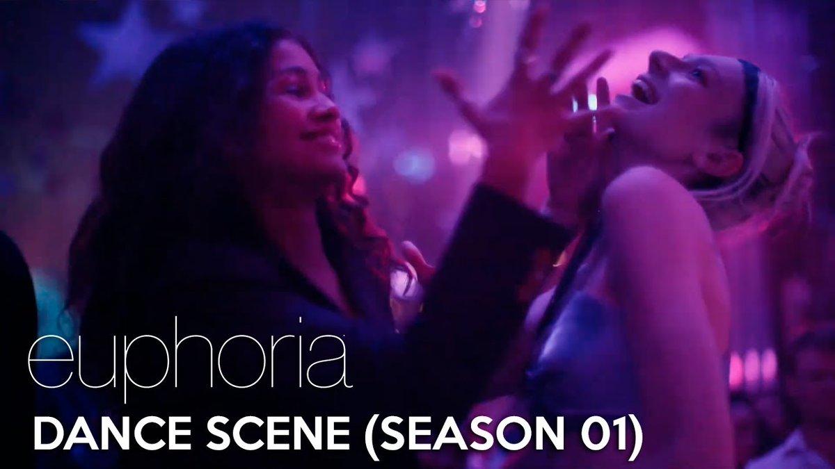 Euphoria   Dance scene (Season 01) #Euphoria #EuphoriaHBO  WATCH HERE: