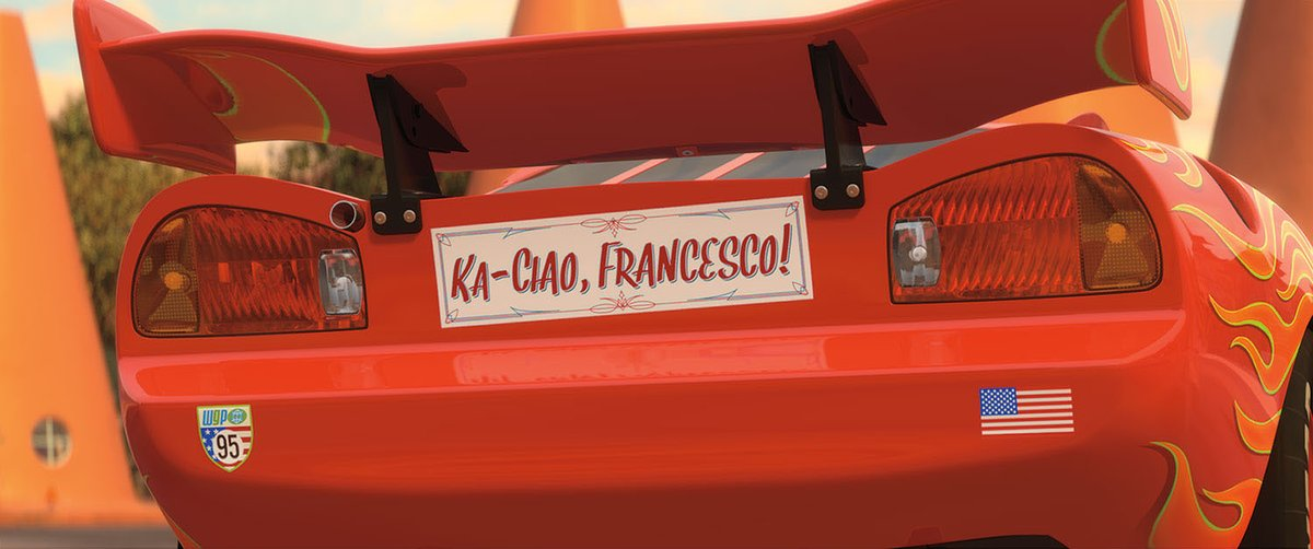 What's your favorite Cars 2 moment? Use:  🇮🇹  for Ka-Ciao, Francesco!  🦸♂️ for when Mater saves Finn & Holly  🍋 for Lemons Unite  👑 for McQueen Meets the Queen  Other: (please specify below!)