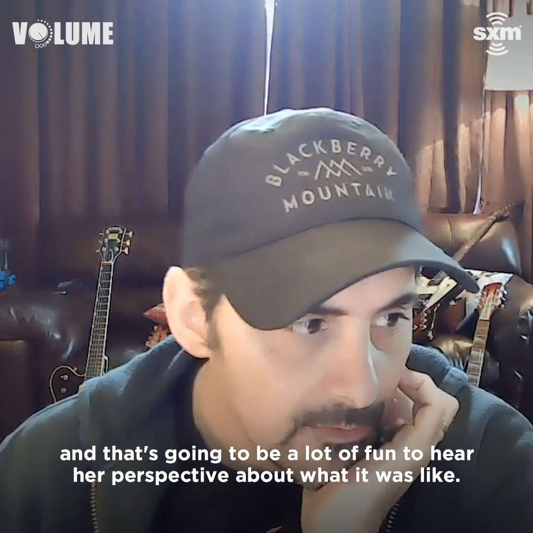 """""""Some of the best music ever has been made by women that had a perspective and were not afraid to share it."""" Listen to @BradPaisley's full interview and deep dive on his new song """"Off Road"""" on @siriusxmvolume:"""