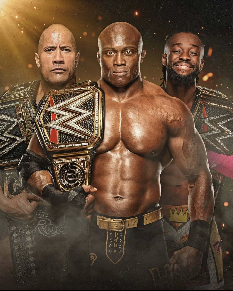 My Champion is BLACK  That's the tweet!   #WWERaw