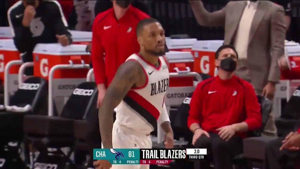 Dame is a BUCKET. https://t.co/b2yELpIea7