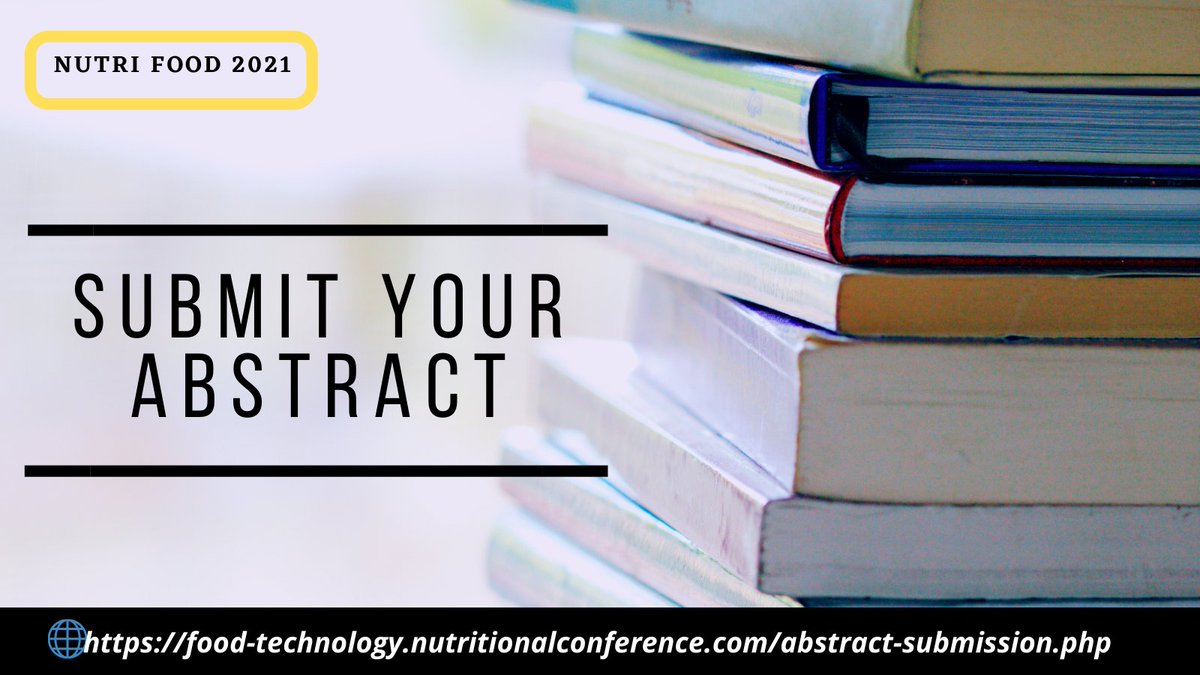 Hurry up!! Respected #Speakers Submit your #Abstracts now! @nutrifoodmeet  #webinar #VirtualEvents #healthcare #nutrition #dietitian #diet #researcher #scholar #scientist #food #students #doctors