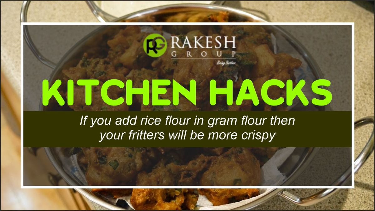 #Kitchen #hacks makes the procedure of making #food and the functioning of kitchen #easier. #rakeshmasala  @FoodFood @FooDivaWorld @SpiceSocial1