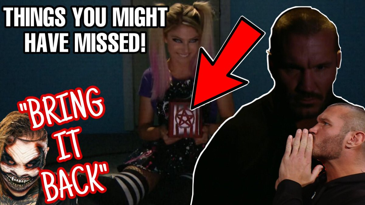 "THINGS YOU MIGHT HAVE MISSED  ""Bring It Back"" 👀 Randy Orton double 🤯 Alexa Bliss back on Raw! & SO much more!  #FireflyFunHouse #AlexaBliss #RandyOrton #WWERaw #WWE #BrayWyatt #TheFiend         👇🏻 🔹"
