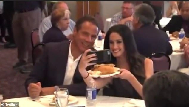 WATCH: NY Gov. Cuomo To Female Reporter: 'I wanna see you eat the whole sausage, no excuses' -