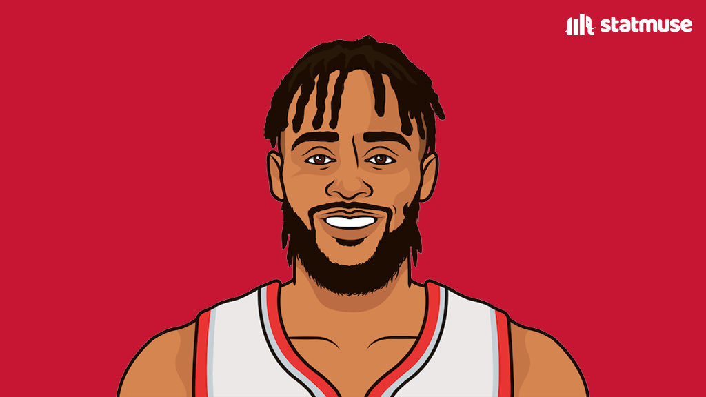 Gary Trent Jr. since starting (18 games):  18.9 PPG 3.8 3PG 44/42/79% https://t.co/nFSS6djSxk