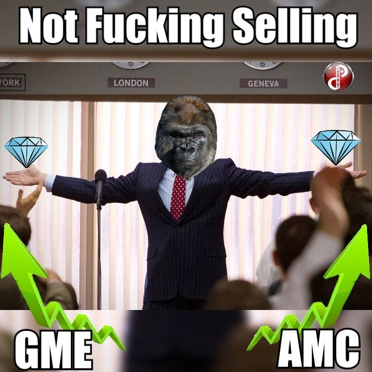 Had some fun editing this together.  Share if you agree my fellow apes.  [Want free Stocks? Click the Webull link in my bio] #Notafinancialadvisor  #AMCtothemoon #amcstock  #GMEtothemoon #GameStop #Webull  #SaveAMC #wallstreetbets #AMCARMY #SNDL #CCIV #NAKD #Nokia #SOS #BB #AMC