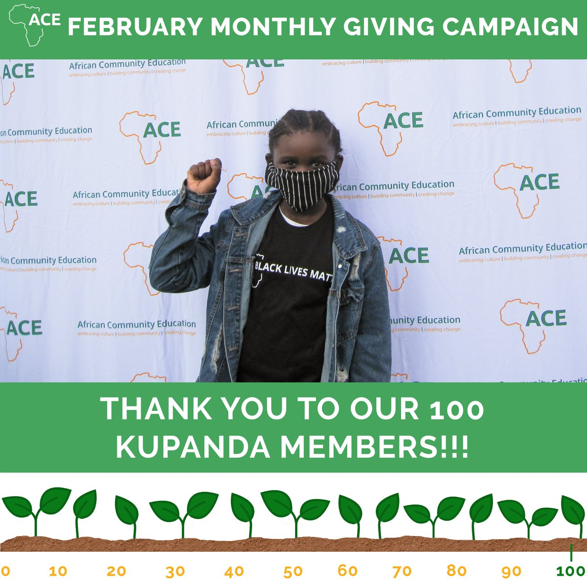 Thank you to everyone who made this possible. When @aceworcester launched our Monthly Giving Community in 2018, we barely had 100 donors period. Never did I think we would have 100 MONTHLY donors less than 3 years later. https://t.co/8E4rHcQyGa