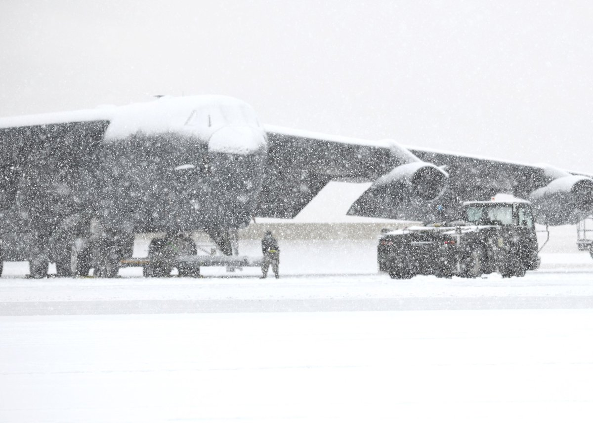 Do you know the secret to staying warm? Proper training and equipment ensures @TeamMinot meets the mission in even the most severe conditions. #Strikers #B52