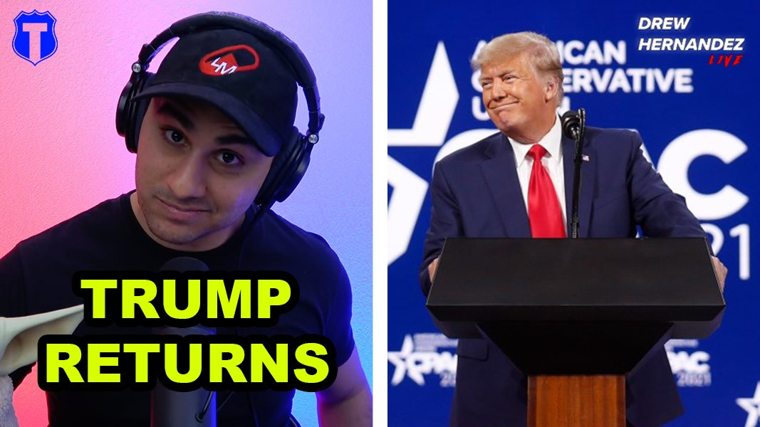 Trump Slams Biden With CPAC Speech, Biden is Clearly Getting Worse! New podcast out now! Link: