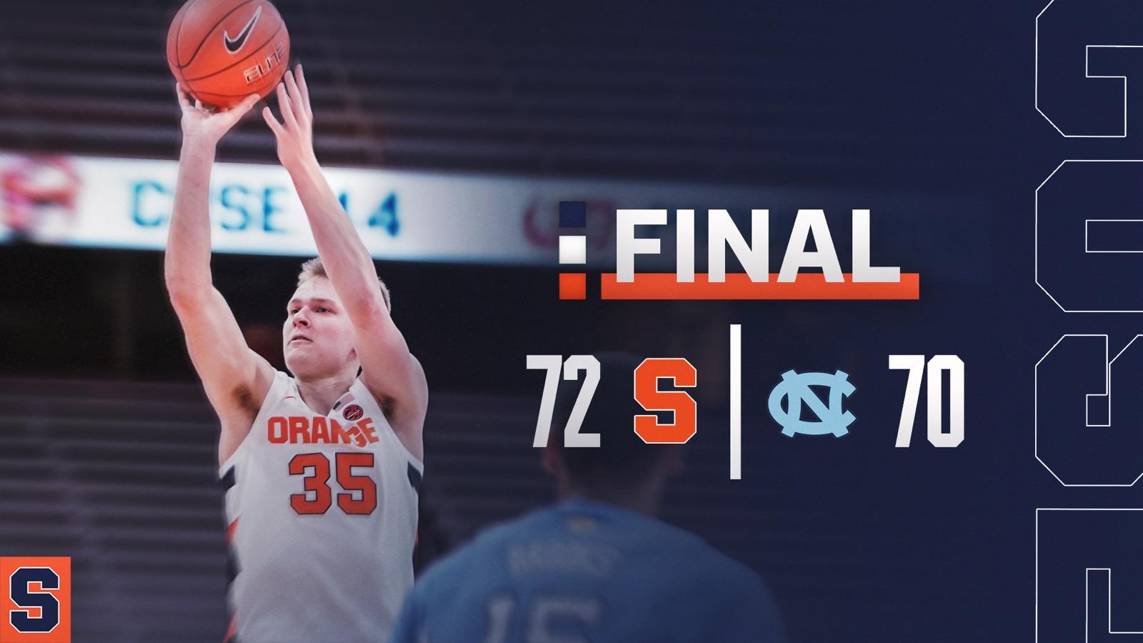 ORANGE GAME DAY: Syracuse hosts North Carolina tonight (preview, media & info)