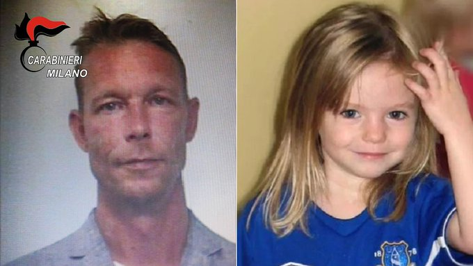 Madeleine McCann disappearance: New details on German suspect emerge Photo