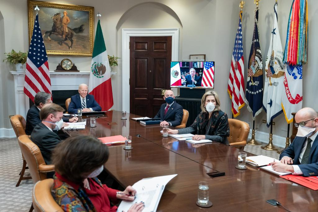 This afternoon, President Biden hosted Mexican President Andrés Manuel López Obrador for a virtual bilateral meeting. Both leaders committed to working together to address migration, combat COVID-19, reinvigorate economic cooperation, and deepen U.S.-Mexico security cooperation.