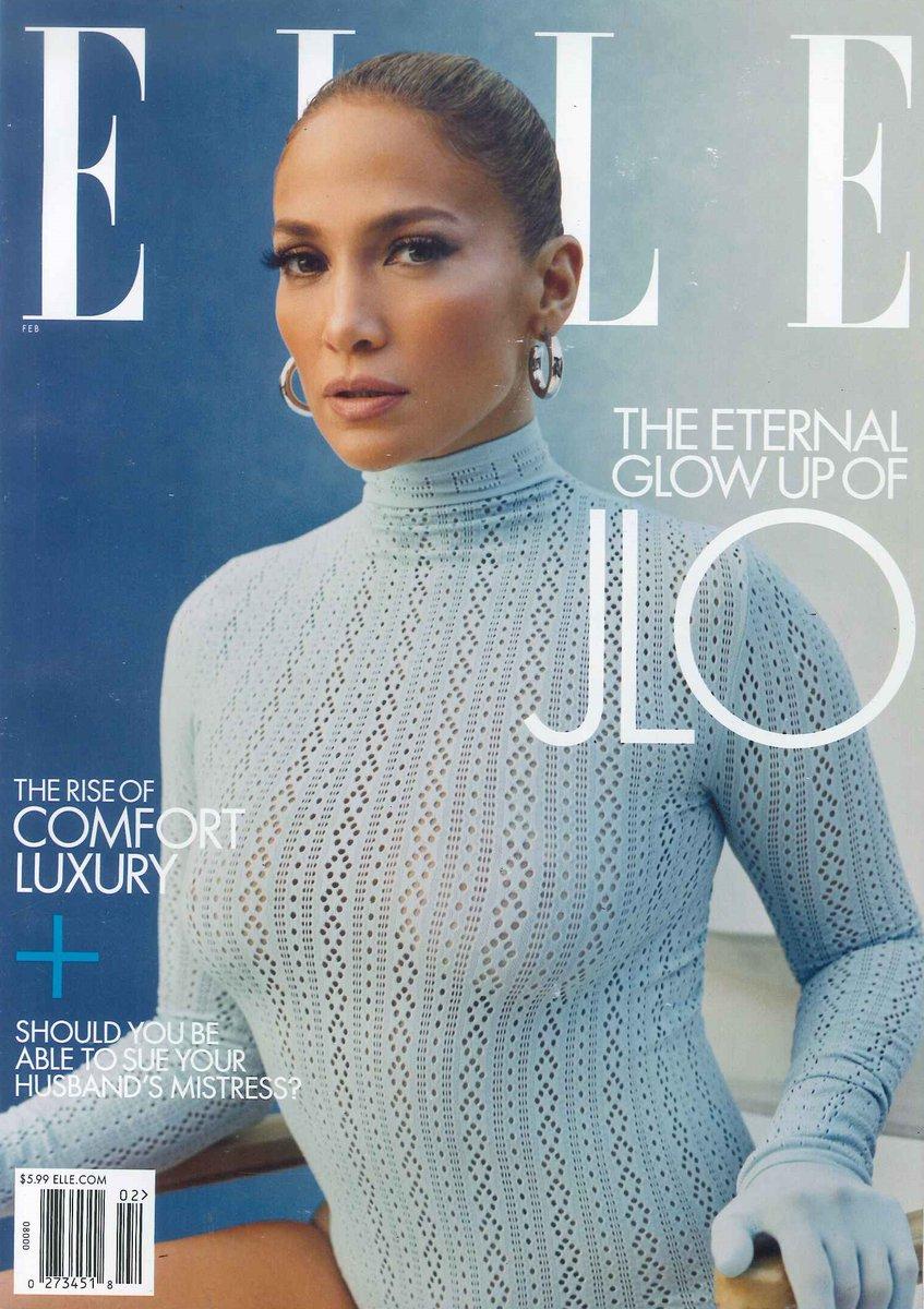 #ジェニファーロペス が表紙の #ELLE #US 2月号は明日3/3で販売終了になります。まだ手に入れていない方はお早めに。ご注文はこちらから→(あ)#海外マガジン #magazine #洋雑誌 #JenniferLopez #JLo #jlobeauty #womensfashion