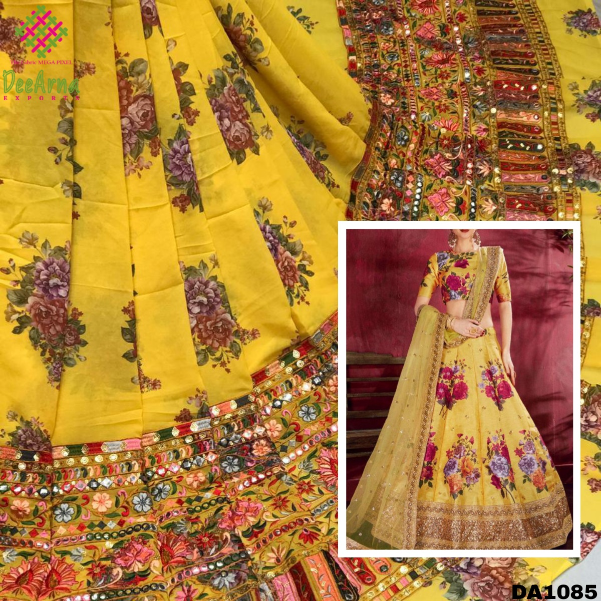 """Buy This Georgette Digital Print Fabric With Embroidery Work 😍 Width:52""""inch Price :Approx 715 Rs/mtr MOQ:14 Meter Dealing in wholesale & for #boutique use! #l4l #F4F #Bahrain #boutiqueshopping #Like #fashiondesigner #follo #ClothingBrand #Clothing #clothingline #fabrics #fabric"""