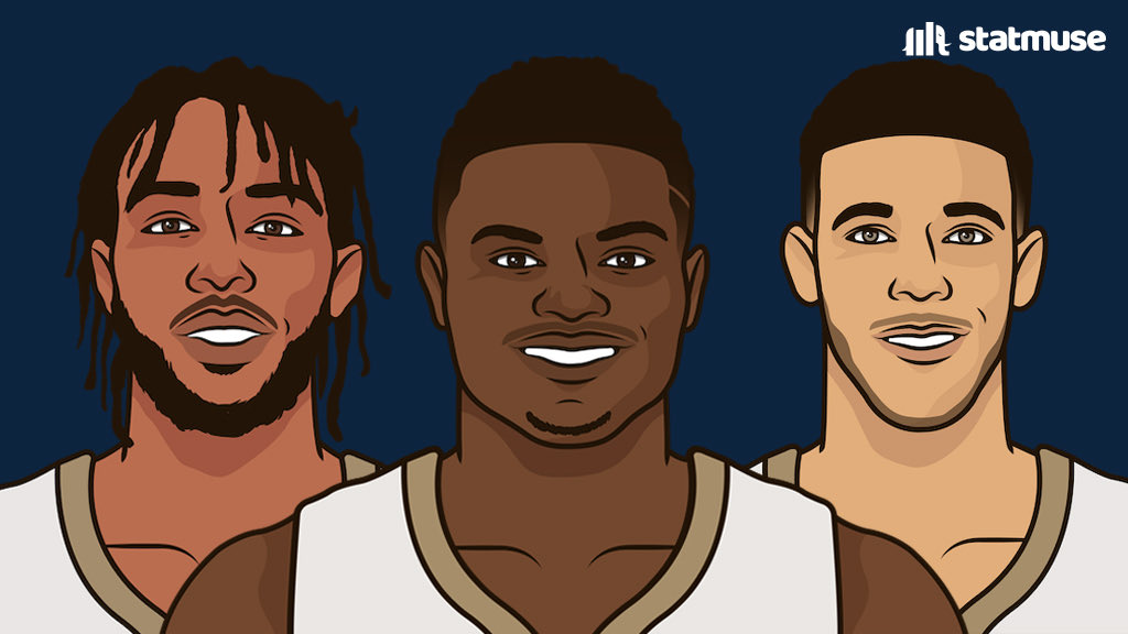 @statmuse's photo on Pelicans