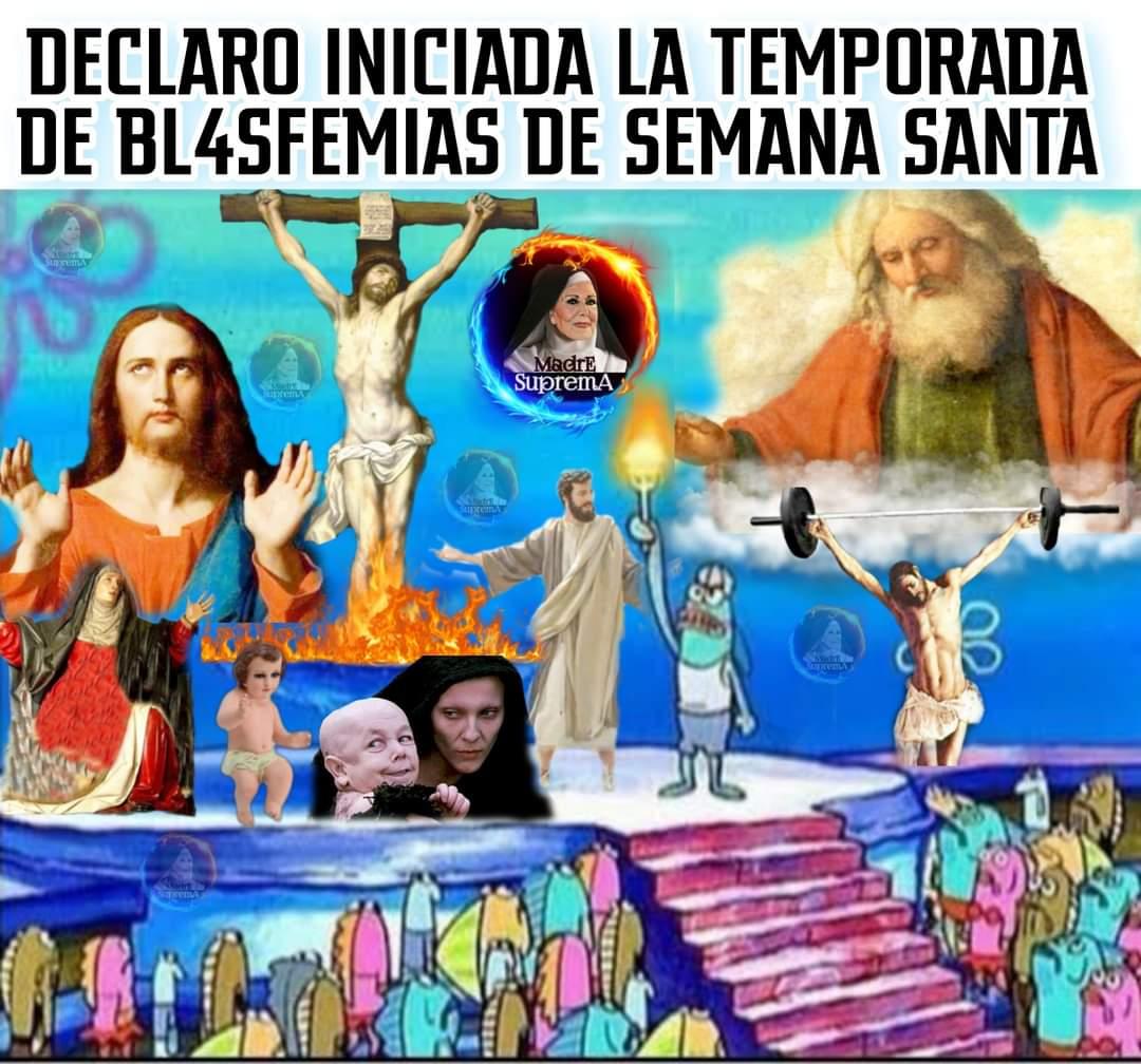 #SemanaSanta #memes #humor   Na memes Ka emoción!!!