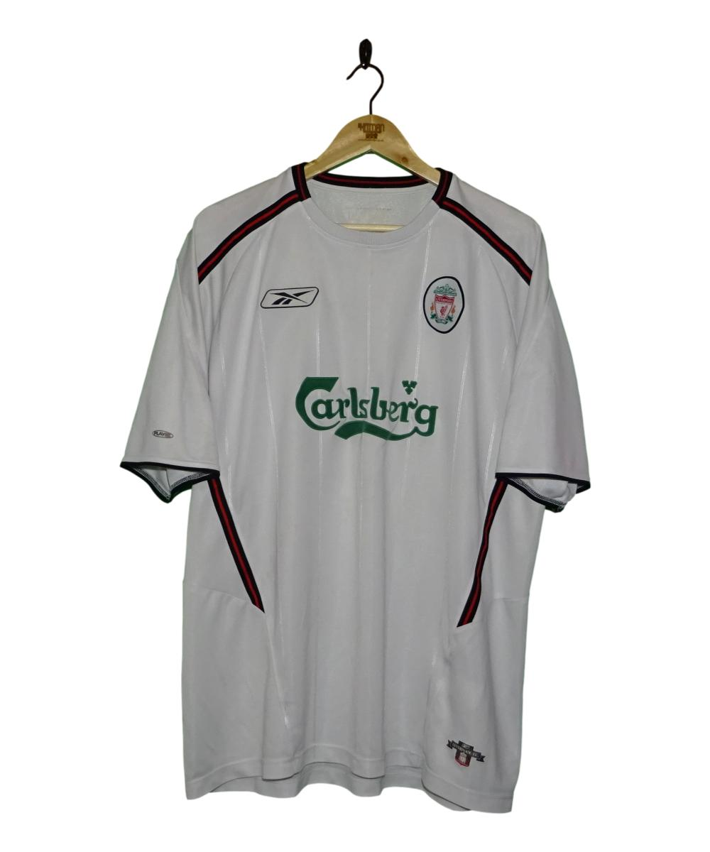 Checkout this 2003-05 Liverpool Away Shirt (XL)!  Buy Now at    Free UK P&P!   #2003-05 #LFC #Liverpool #LiverpoolFC #Reebok #TheKitman