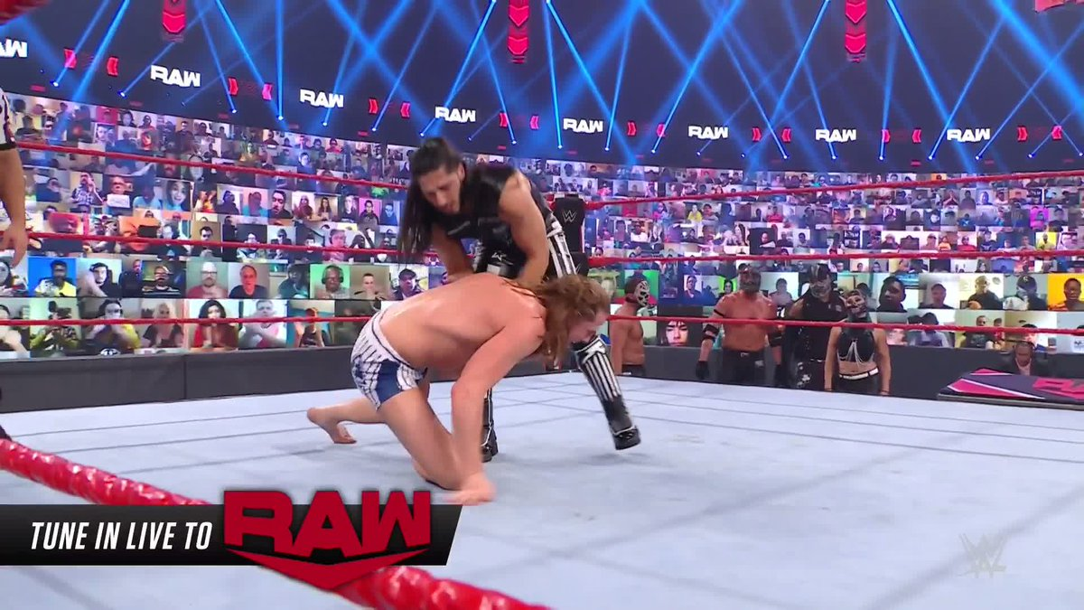 Replying to @WWE: #RETRIBUTION's @AliWWE is out for some retribution of his own against #USChampion @SuperKingOfBros! #WWERaw
