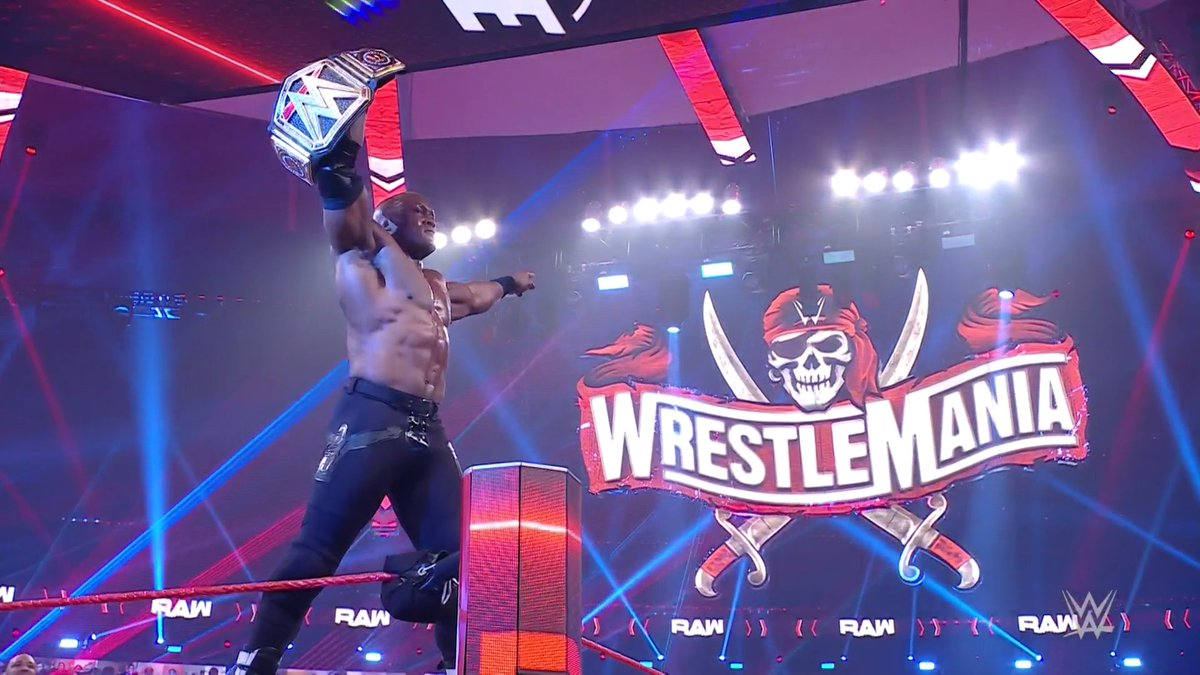Replying to @WWE: 16 YEARS IN THE MAKING.  The ALMIGHTY ERA has begun!  #WWERaw @fightbobby