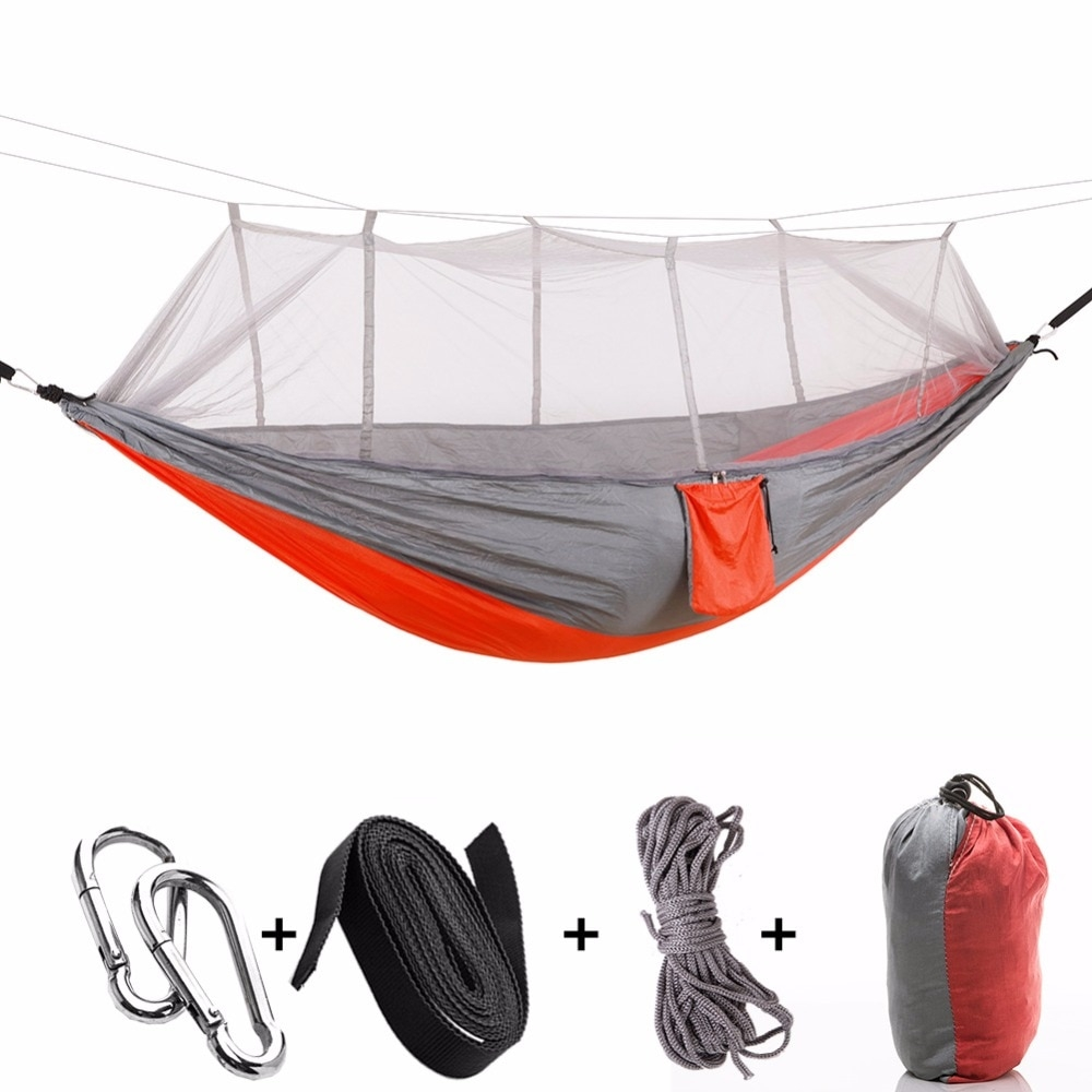 Light Camping Hammock with Mosquito Net #hiking #friday