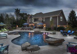 Chicago Swimming Pool Pictures - Outdoor Pools #marketing #pools #digitalmarketing #landscapedesign #outdoorliving #pooldesigns #swimmingpools #ingroundpools #poolbuilders