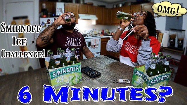 #Smirnoff 6 drink #CHALLENGE hit the link and see how we did     #YouTube #TikTok #instagram #faceboook #funny #VideoViral #fyp #tiktokchallenge #BlackTwitter #couples