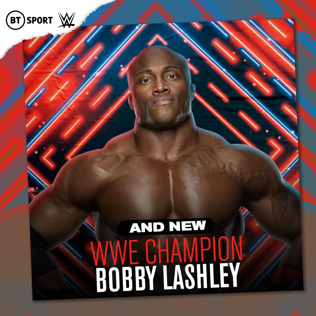 Replying to @btsportwwe: Destiny.  @fightbobby is the NEW WWE Champion!!!