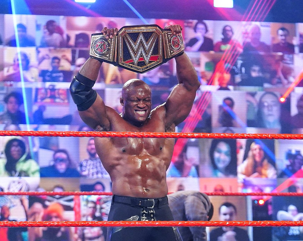 THE ALMIGHTY ERA IS HERE!!! #ANDNEW ✊🏾✊🏾✊🏾   @WWE #WWERaw