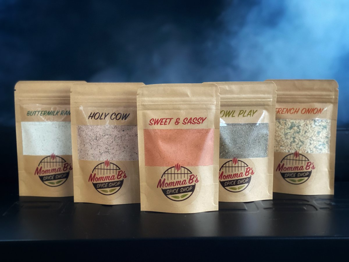 Welcome to Momma B's Spice Shop, the newest small biz in #MedHat! We create hand crafted, all-natural spice blends and seasonings to enhance the flavors of your favorite recipes. Check out the full product line at  #MedicineHat #SmallBusiness #spice