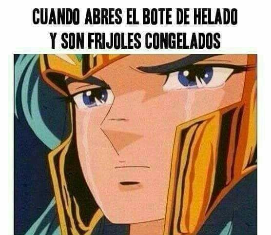 Ya empezó la época de este clásico mexicano ... 💔🍦🍨 🤣🤣🤣 El bonito #meme de media noche #SaintSeiya #ElQueEntendioEntendio #AplausosAlAutor